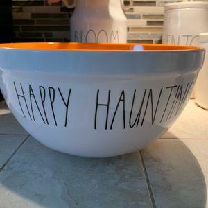 🎃 Happy Haunting Large Rae Dunn mixing bowl 👻